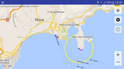Sea Maps Android Screenshot 2